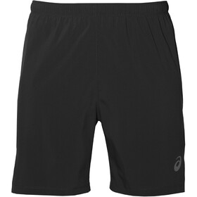 "asics Silver Pantaloncini 2in1 7"" Uomo, performance black"